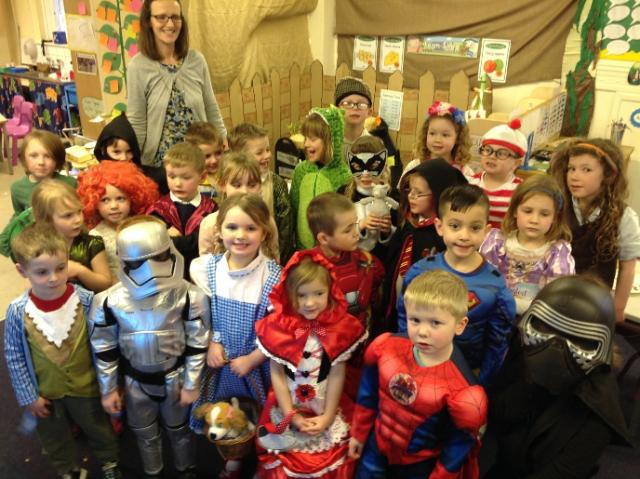 world book day class 1